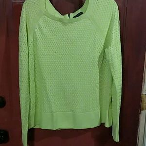 American Eagle Lime green  sweater